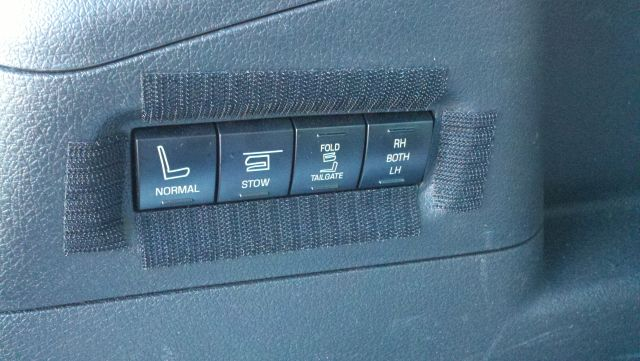 power 3rd row seats switch override ford flex forum. Black Bedroom Furniture Sets. Home Design Ideas